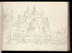 Exeter Cathedral, 1820
